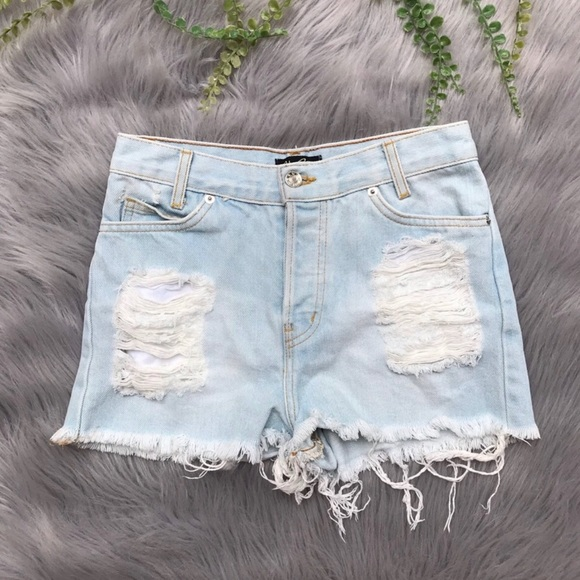 Brandy Melville Pants - John Galt x Brandy Melville High Rise Shorts